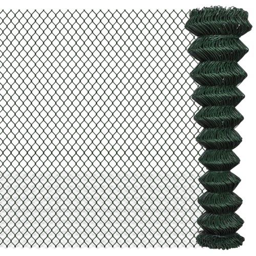 "Łańcuch Fence 6 '6 ""x 49' 2"" Zielony"