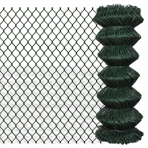 "Łańcuch Fence 3 '3 ""x 82' Zielony"