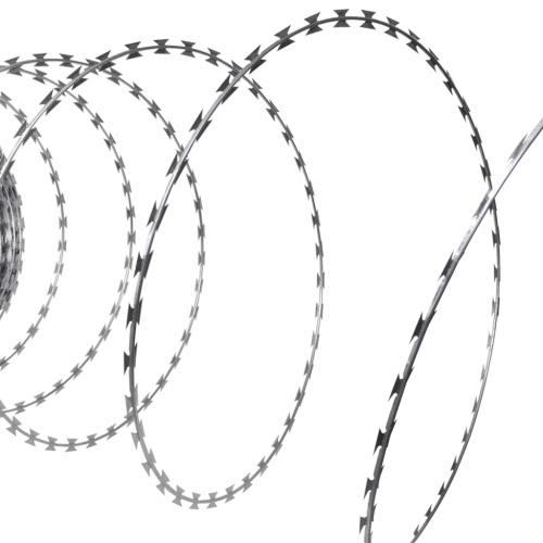 NATO Razor Wire Helical Wire Roll Galvanized Steel 328'