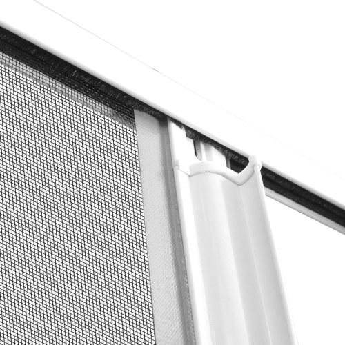 """Белый раздвижной экран для насекомых 47.2 """"x84.6"""""""