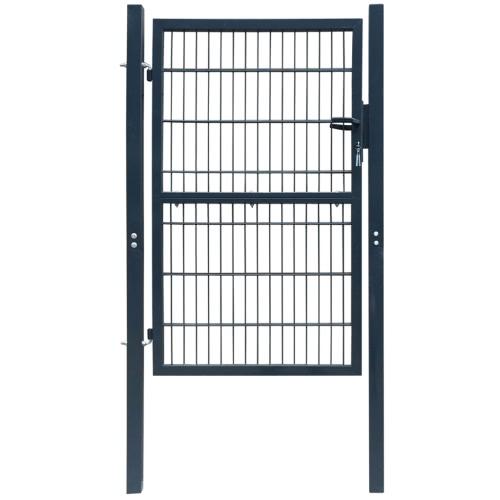 2D двери ворота (легкая) антрацит 106 х 210 см
