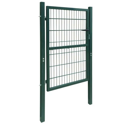 Огороженная 2D Зеленая дверь 106 х 210 см (не замужем)