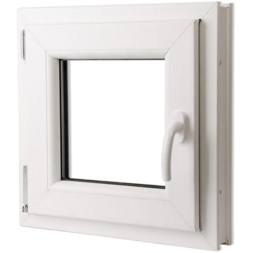 Ventana PVC oscilo-batiente triple cristal manilla der 500x500 mm