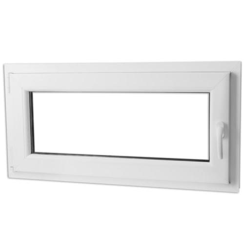 PVC-Dreh-Kipp-Fenstergriff triple der 800x400 mm Glas