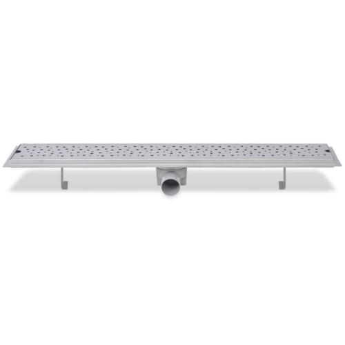 Bolla di scarico per doccia lineare 830x140 mm in acciaio inossidabile