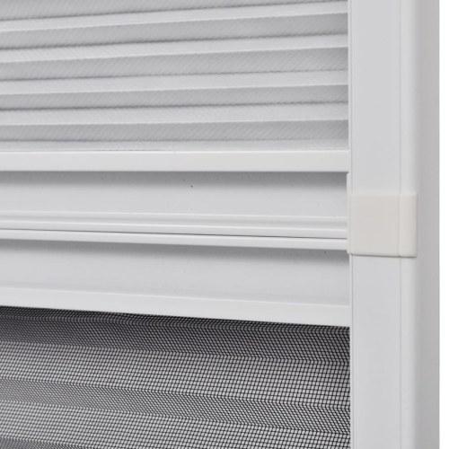 """Plisse Insect Screen для оконного алюминия 23,6 """"x 31,5"""" с оттенком"""