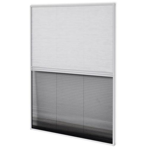 """Plisse Insect Screen für Fenster Aluminium 31,5 """"x39,4"""" mit Schatten"""
