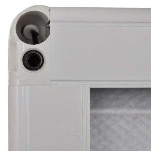 """Plisse Insect Screen für Fenster Aluminium 31,5 """"x47.2"""" mit Schatten"""