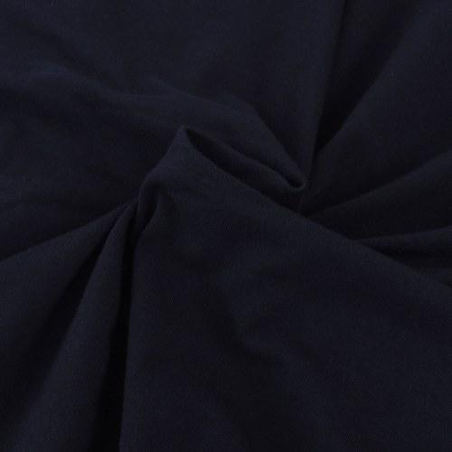 Sofabezug Sofaabdeckung 2 Plätze elastische gestrickte schwarze Baumwolle