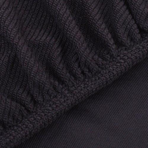 Sofabezug Sofabezug elastisch gestrickten Polyester braun
