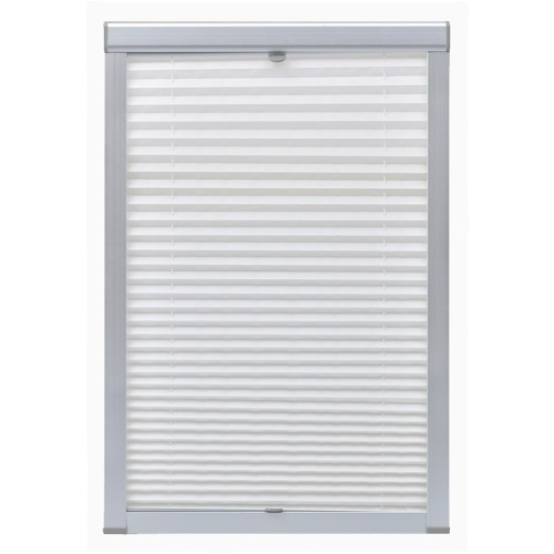 pleated white curtain blackout c04 / ck04