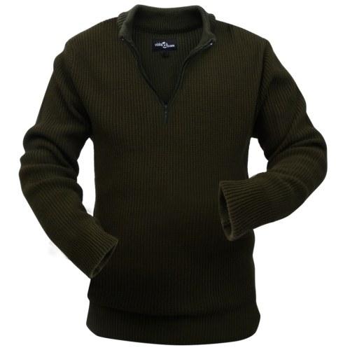 Maglione Da Lavoro Per Uomo Verde Militare Taglia L