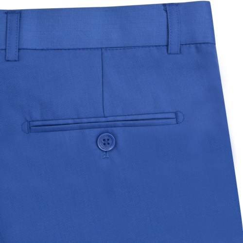 Elegantes Herren Kleid 2 Stück Royal Blue Größe 52