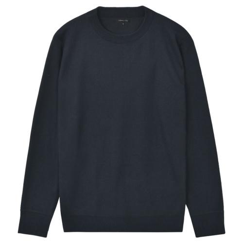 Мужской синий свитер-майка м