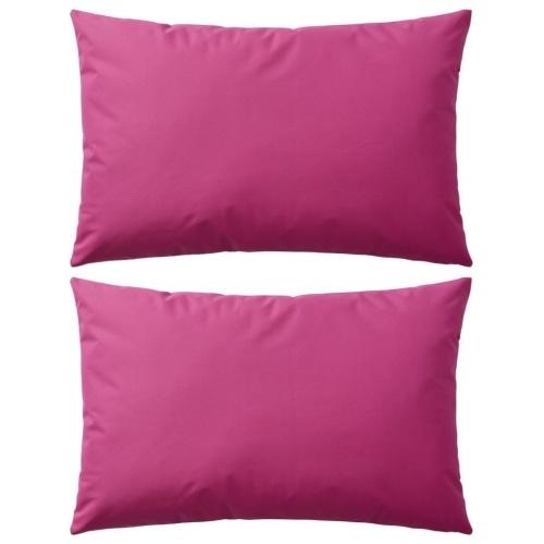Наружные подушки 2 шт. 60х40 см Розовый