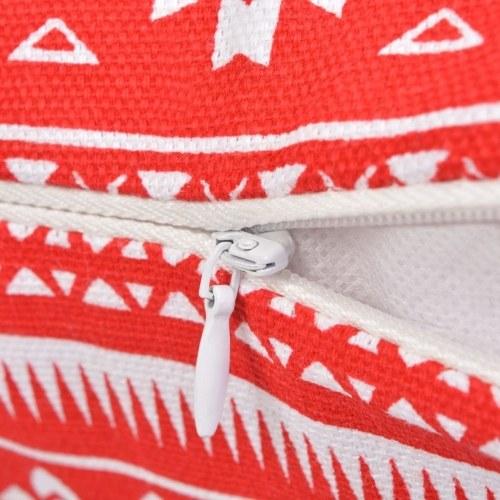 Декоративные подушки 2 шт. На холсте Azteca Print Red 45x45 см