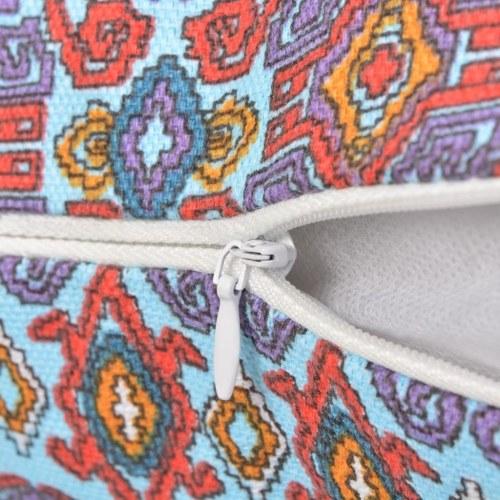 Декоративные подушки 2шт. На холсте Ацтекская многоцветная печать 45х45см