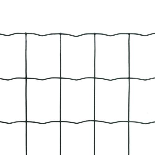 Rete recinzione stile europeo 10 x 0,8 m con maglia di 76 x 63 mm