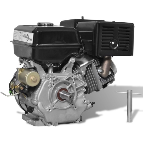 15 HP Motore a Benzina Nero 9,6 kW