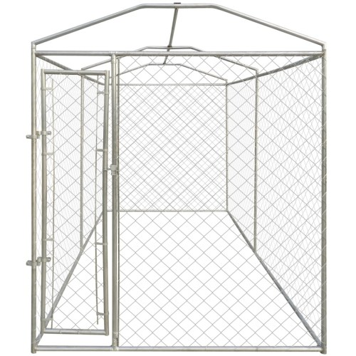 outdoor dog kennel with shed-resistant 200 x 400 x 235 cm