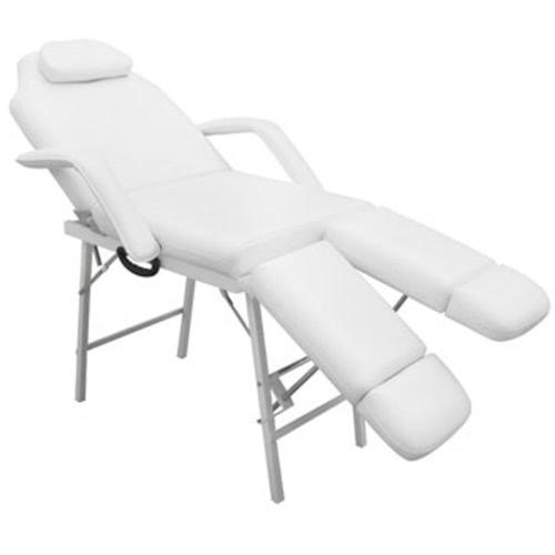sedia trattamento bianca con poggiagambe ajustable
