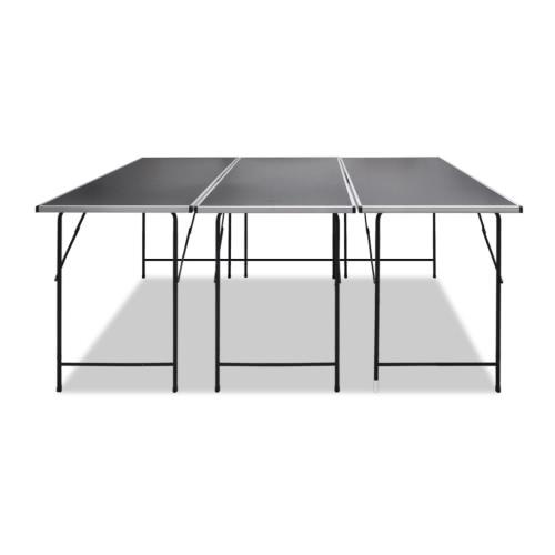3x mesa de trabajo plegable