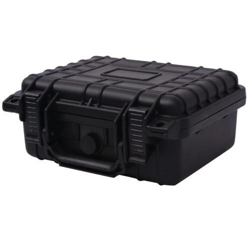 Универсальный чемодан 27x24,6x12,4 см черный