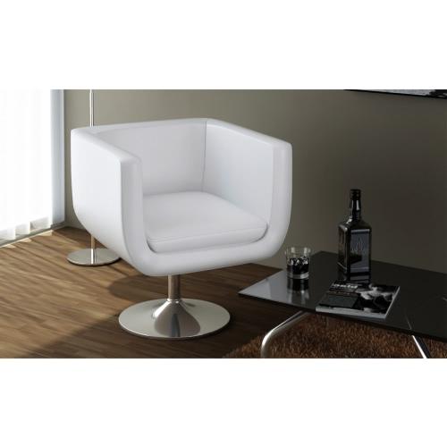 Cube Stuhl Weiß x2