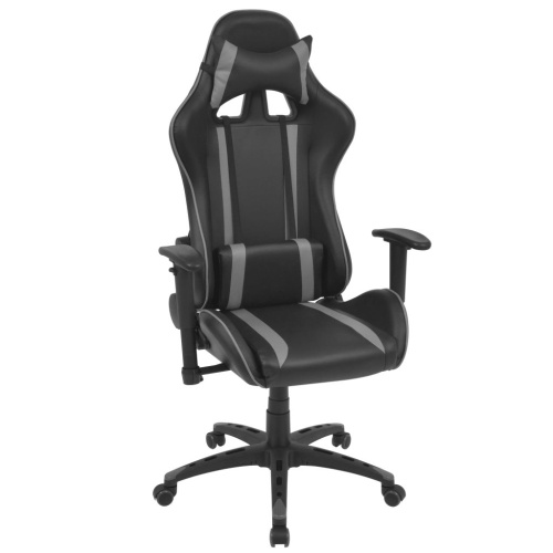 Наклонный гоночный офисный стул для искусственной кожи