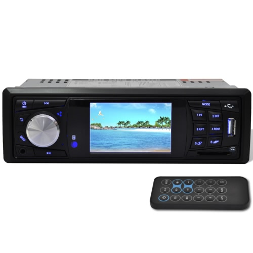 Car Stereo 1 DIN MP3 MP5 FM Radio Media Player with 3 Inch HD Screen