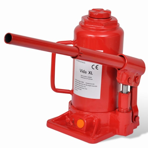 210258 Hydraulic Bottle Jack 12 Ton Red Car Lift Automotive