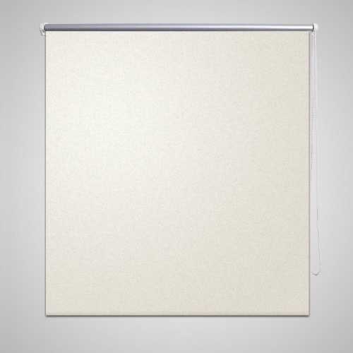 Roller blind blackout 80 x 175 cm off white