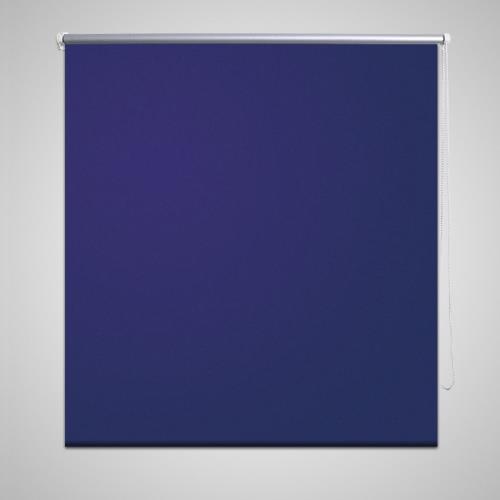 Roller Blind Blackout 80 x 175 cm Marine