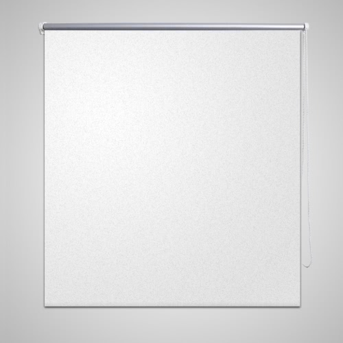 Roller Blind Blackout 100 x 175 cm White