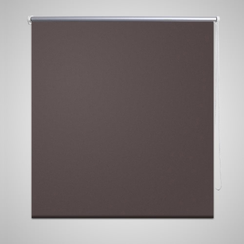 Roller Blind Blackout 100 x 175 cm Coffee