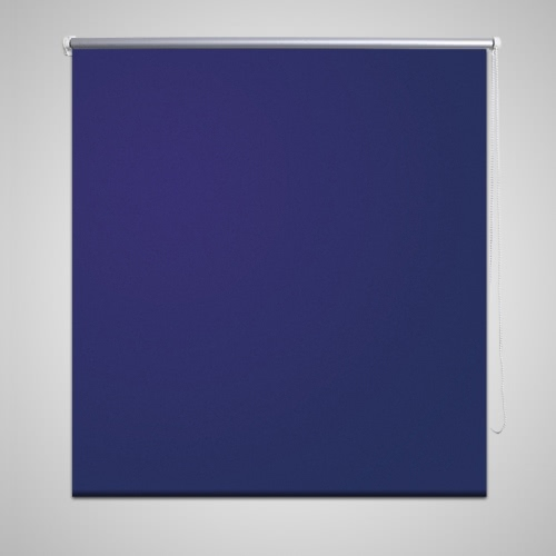 Verdunklungsrollo apagón ciega 100 x 175 cm azul