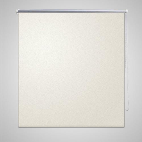 Roller Blind Blackout 160 x 175 cm off White