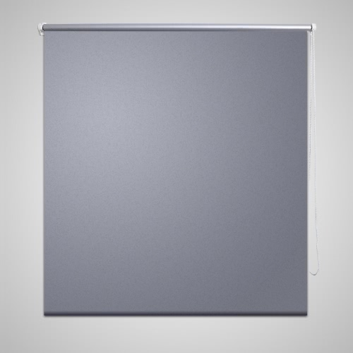 Roller Blind Blackout 80 x 230 cm Grey