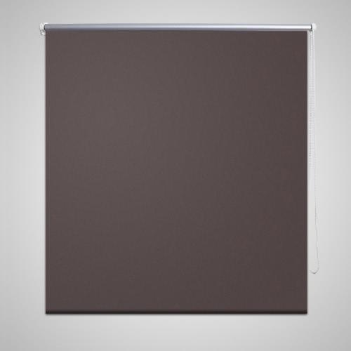 Roller Blind Blackout 100 x 230 cm Coffee