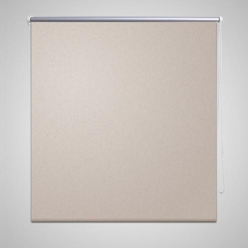 Roller Blind Blackout 120 x 230 cm Beige