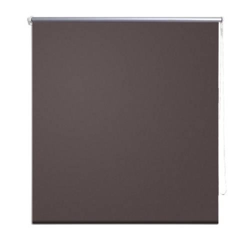 Roller Blind Blackout 140 x 230 cm Coffee
