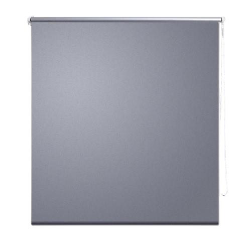 Roller Blind Blackout 160 x 230 cm Grey