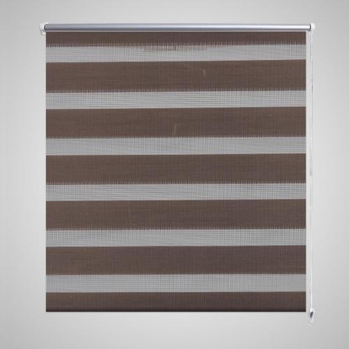 Zebra Blind 40 x 100 cm Coffee