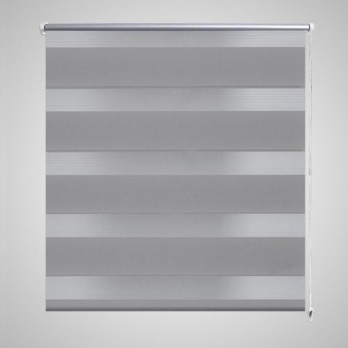 Doble ciego de 50 x 100 cm gris