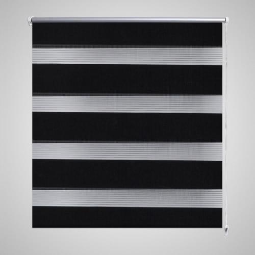 Zebra Blind 80 x 150 cm Black