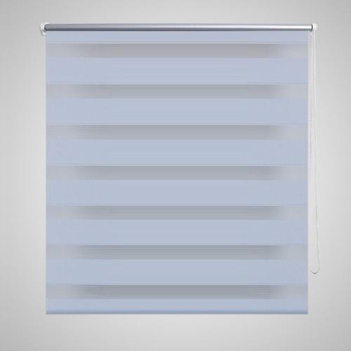 Double sidecut blind 100 x 175 cm blanc
