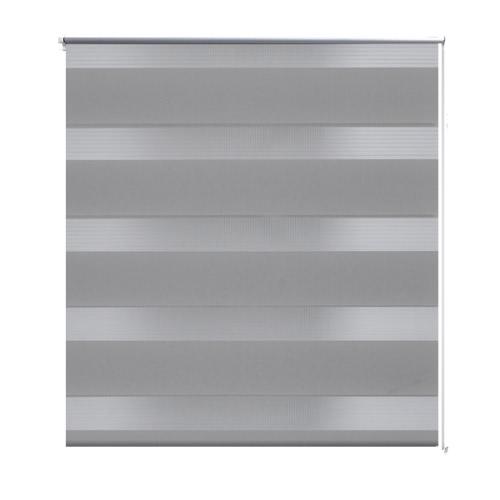 Zebra Blind 100 x 175 cm Grey