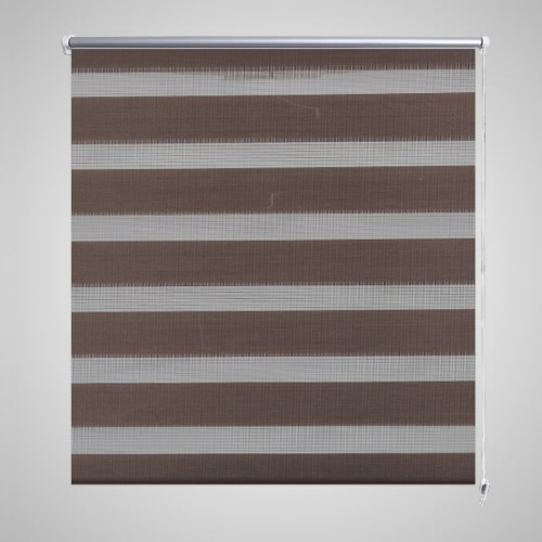 Zebra Blind 100 x 175 cm Coffee