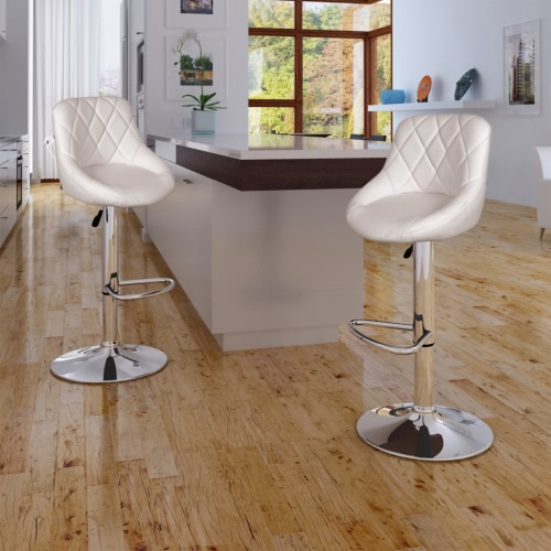 240466 2 x Bar Stool Blanco