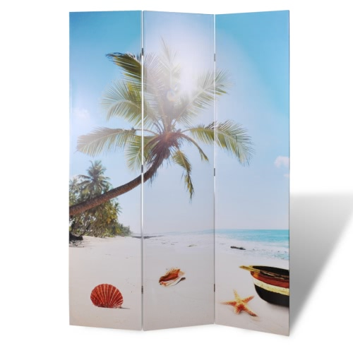 Zdjęcie ekranem dzielniki ekranu Pokoju plaża 120 x 180 cm